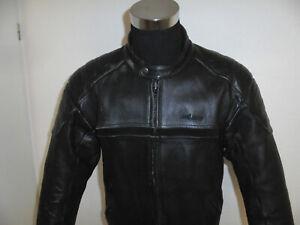 vintage Cafe-Racer Motorrad Lederjacke classic Biker Jacke oldschool  50 Gr.56 L