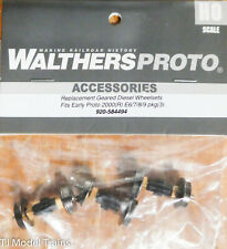 Walthers Proto HO #920-584494 Replacement Geared Driver Assembly Fits Life-Like