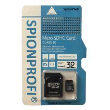 32GB Micro SD SDHC Class 10 Speicherkarte inkl. Kartenadapter - Universal - Z51