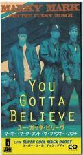 "Marky Mark You Gotta Believe Japan 1992 3"" CD Atlantic Promo AMDY-5089 Unsnapped"