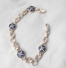 Sargadelos Porcelain and Sterling Silver Monfero Bracelet - NEW