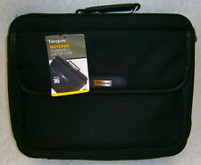 """Targus Notepac up to 16"""" Clamshell Laptop Case Black"""