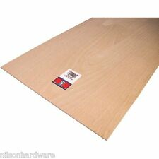 "6 Pk 1/8"" X 12"" X 24"" Project Birch Plywood Crafts Hobby Modeling 5306"