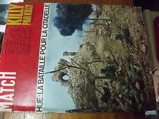 µ? Revue Paris Match n°986 Gagarine JC KILLY Bataille de HUE