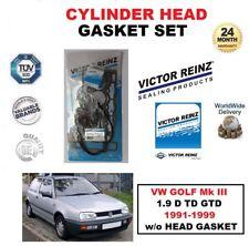 VICTOR REINZ Juego de junta para VW GOLF Mk III 1.9 D TD GTD 1991-1999 W/O