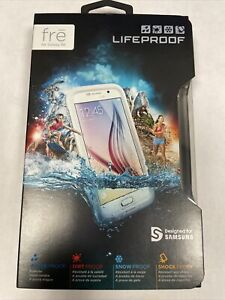 LifeProof fre Waterproof Case for Samsung Galaxy S6 - White