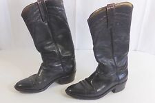 Frye  Western Boots Size 8 1/2 Dark Brown Cowboy Boots Pre-Owned