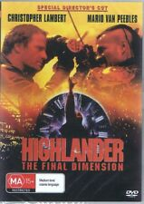 HIGHLANDER The Final Dimension DVD Christopher Lambert NEW & SEALED Free Post