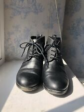 Marco Tozzi Black Heeled Boot Size 4