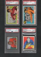 Bobby Grayson #5 1955 Topps All American Football Card - Graded PSA 6 EX/MT