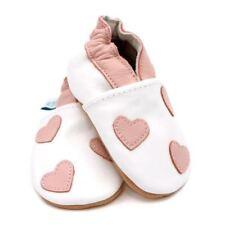 Chaussures roses en daim pour bébé