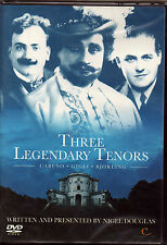CARUSO GIGLI BJORLING - THREE LEGENDARY TENORS - DVD NUOVO SIGILLATO