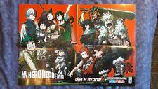 Poster Promozionale My Hero Academia di Kohei Korikoshi Ed. Star Comics Nuovo