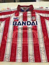 Maillot Football Atletico Madrid 1996/97 Bobo Vieri Puma Bandai Liga Vintage