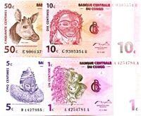 2012 CONGO REPUBLIC SPECIMEN BANKNOTE 10000 FRANCS UNC WILDEBEEST HUMMINGBIRD