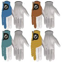 "Ball-Eagle ""DOTTY"" 100% LEATHER Golf Gloves MENS LADIES Left/RIGHT Hand"