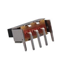 100pcs Slide /toggle Switch SS12F23G7 5 pins 2.54mm pitch Right angle PCB