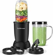 Personal Blender 250W for Shakes Smoothies Seasonings Sauces 16 oz Mug (Black)