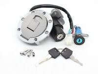 Fuel Gas Cap Ignition Switch Seat Set Key Lock Fit YAMAHA TZR125 TZM150 TDM850