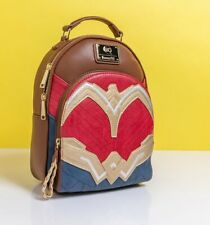 Official Loungefly DC Comics Wonder Woman Cosplay Mini Backpack