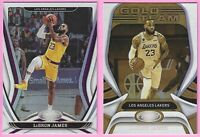 2020-21 Panini Certified LeBron James #55 Base W/Gold Team #29 Los Angeles Laker