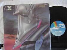 "AXE LIVING ON THE EDGE VINYL LP RECORD 12"""