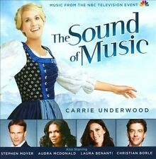 THE SOUND OF MUSIC TV Soundtrack CD 2013 Carrie Underwood NBC Event *NEW SEALED*