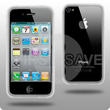 NEW Clear Bumper Case Cover for Apple iPhone 4 4G UK