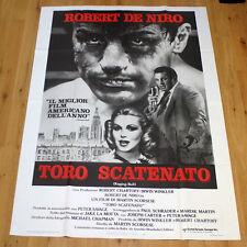 TORO SCATENATO manifesto poster Robert De Niro Martin Scorsese Box Raging Bull 2