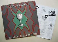 LP Thee Fourgiven - Salvation Guaranteed - mint- . Insert - Dionysus