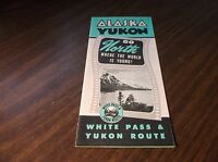 UNDATED WHITE PASS & YUKON ROUTE SYSTEM MAP AND ROUTE GUIDE ALASKA