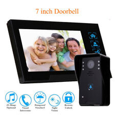 """7"""" Video Door Bell Phone Camera Monitor system for Home Office System Intercom"""
