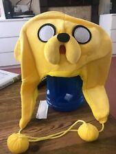 Adventure Time-Jake Amarillo Peluche Sombrero! Disfraz de alta calidad de entrega rápida!