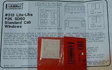 American Model Builders, Inc HO #313 Windows for: Life LikeP2K SD60 Standard Cab