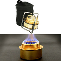 Portable Spirit Burner Alcohol Stove Camping Stove Furnace with Stand B9-1 US