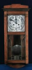 Hanging Wall clock, from the early 20th century, jugendstil