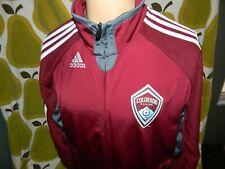 Adidas COLORADO RAPIDS Soccer Jacket S Men's Climalite Track Jacket MLS