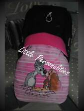 character pink lady and the tramp baby stay put buggy/pram blanket/footmuff