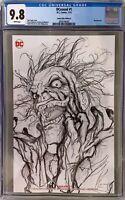 DCeased # 1 CGC 9.8 Comics Elite Edition B John Giang Sketch Cover Variant
