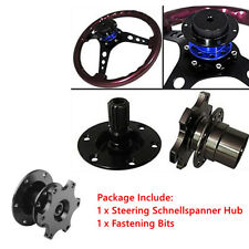 Quick Release Snap Off Steering Wheel Hub Adapter Kit For Car Master Lock System