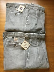 Pack of 2- Savane Trousers Vintage Corduroy Cotton Waist 92 Ex-display To Clear