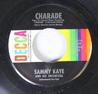 Rock 45 Sammy Kaye And His Orchestra - Charade / Maria Elena Cha Cha On Decca