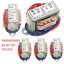AC 6V/9V/12V/15V/24V 1W/2W/3W/5W Output Voltage 50Hz Power Transformer AC 220V