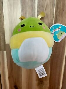 "Squishmallow Rutabaga The Caterpillar 5"" NWT"