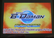 Battle B-Daman (Nintendo Game Boy Advance, 2006) GBA Atlus game RATED E kids