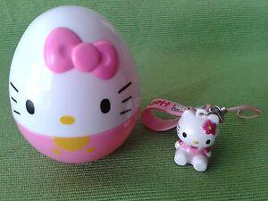 Laccetti cellulari Hello Kitty Bebe Portachiavi Gadget Originali da Collezione