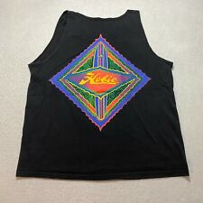 Vintage Hobie Tank Top Size L Black Made In Usa Surf Surfing Sleeveless Beach