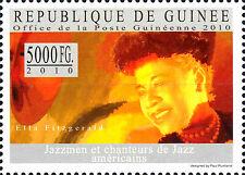 Guinea postfrisch MNH Ella Fitzgerald Usa Sänger Musiker Jazz Musik Prominent