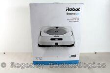 Irobot Braava Jet M6 Wi-Fi Connected Robot Mop | M611020 | White | New Open Box