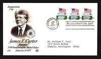 1977 Carter Inauguration Cover - Artcraft Cachet - Z14273